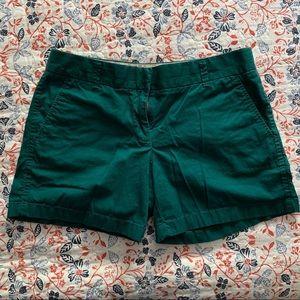 "J. Crew 5"" shorts - size 6"